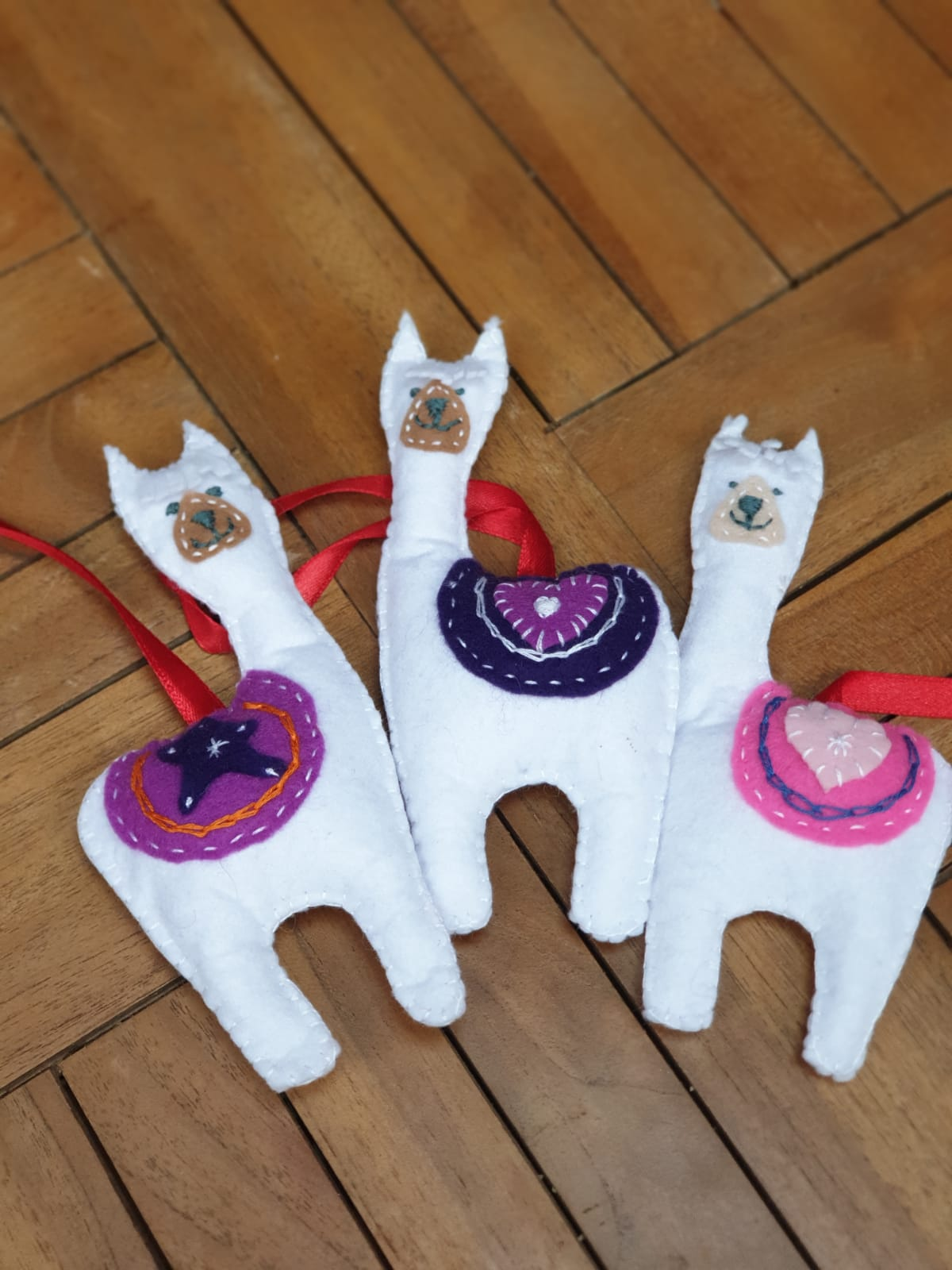 Alpaca Felted Decoration